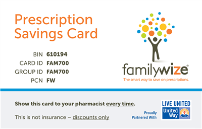 charitycharge prescription discount card