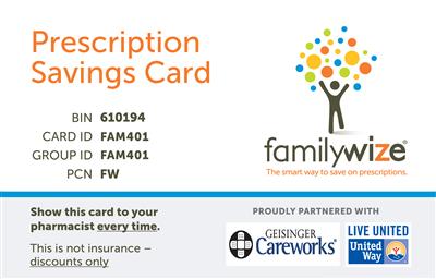 ghs prescription discount card