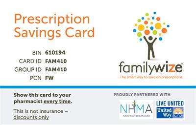 nhma prescription discount card